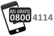 Bel gratis 0800-4114