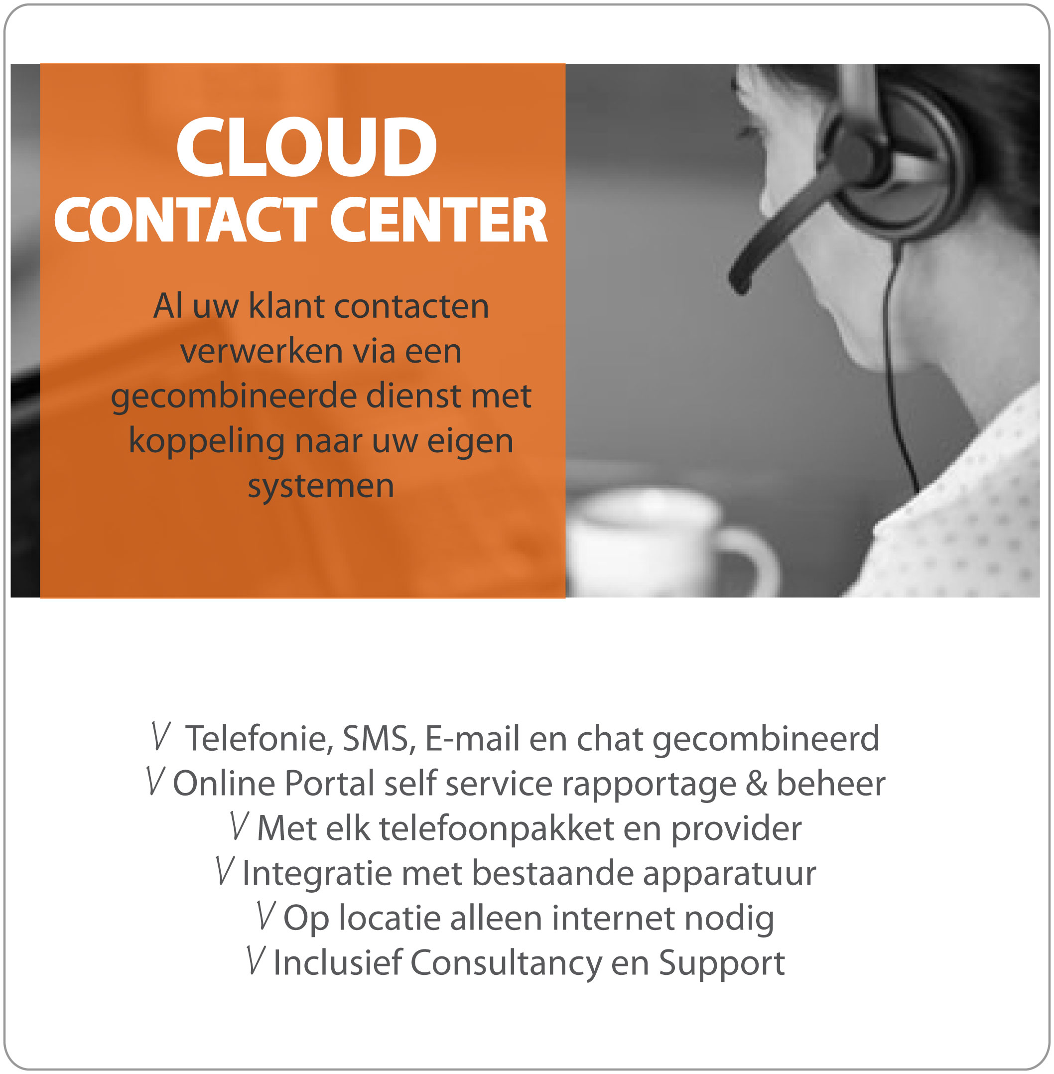 Cloud Contact Center ContactOns.nl