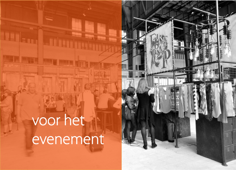 Vlak voor het evenement ContactOns.nl