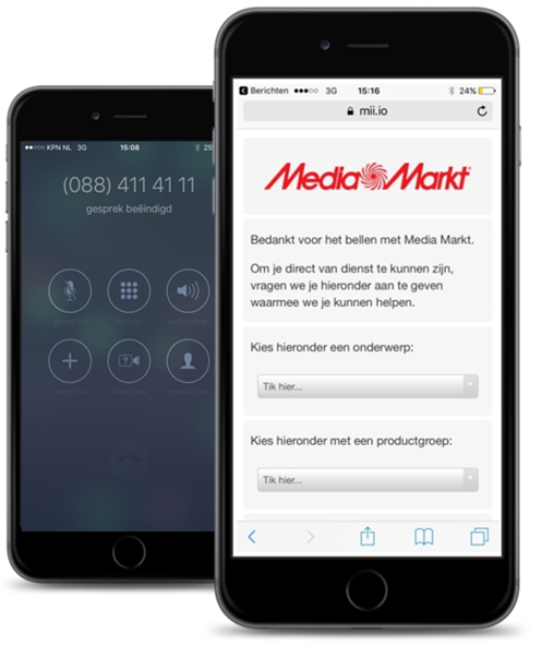 SmartContact - Voice2Web - MediaMarkt - ContactOns.nl