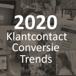 5 klantencontact conversie trends voor succes 2020